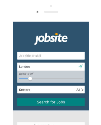 Jobsite.co.uk Mobile Application